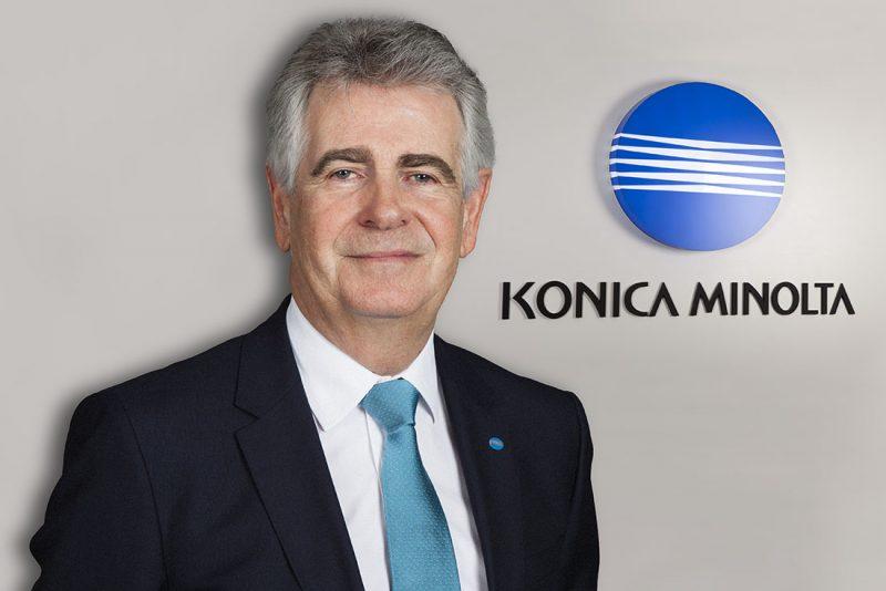 Photo président Konica Minolta